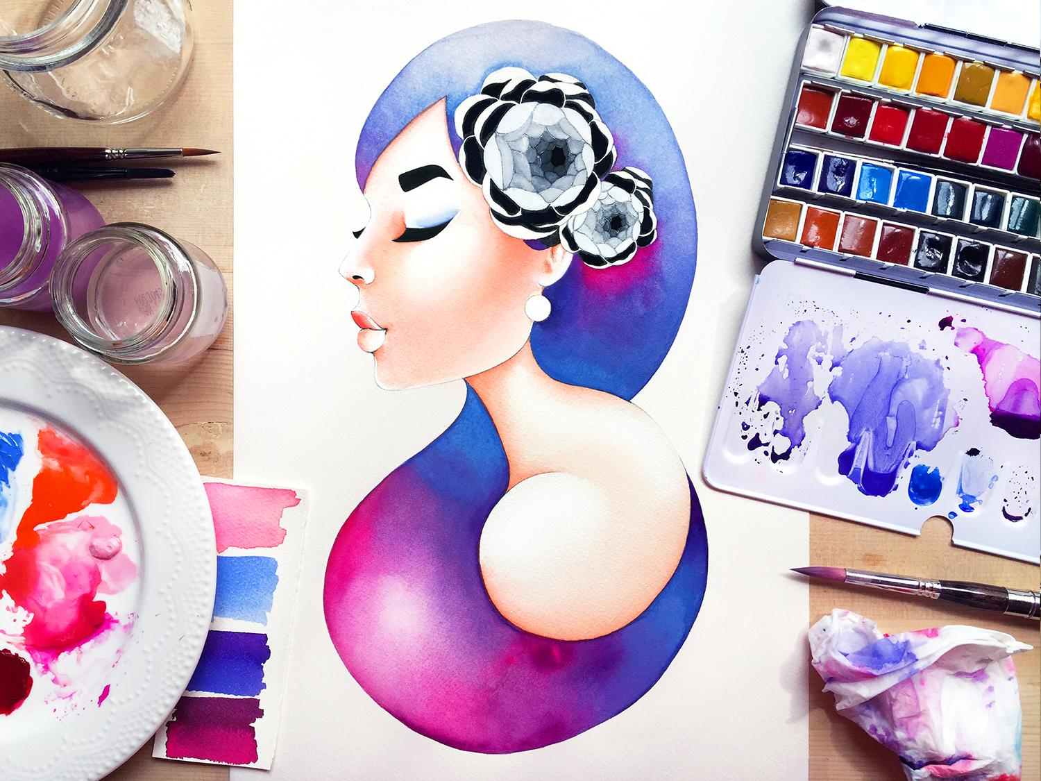 WORLD WATERCOLOR MONTH X ROSHNI MERCHANT - News
